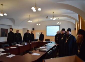 Настоятель храма принял участие в первом заседании Ученого совета Калужской духовной семинарии в 2020/21 учебном году