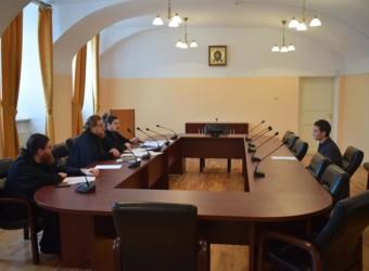 Протоиерей Сергий Третьяков принял участие в приеме вступительных экзаменов в Калужскую духовную семинарию