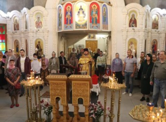 Неделя 8-я по Пятидесятнице, святого пророка Божия Илии
