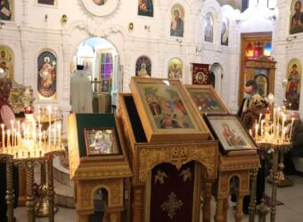 Неделя 24-я по Пятидесятнице, иконы Божией Матери «Скоропослушница», святителя Нектария Эгинского