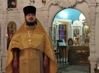 Богослужение и проповедь в день святителя Николая Чудотворца