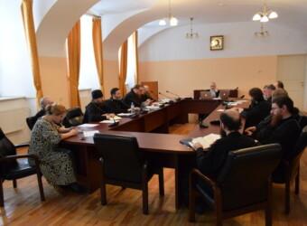 Протоиерей Сергий Третьяков принял участие в заседании Ученого совета Калужской духовной семинарии