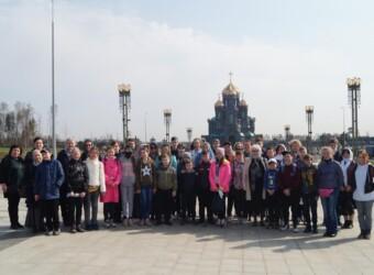 Паломничество в главный храм вооруженных сил Российской Федерации