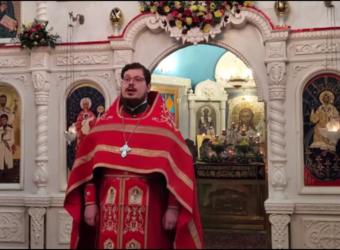 Проповедь протоиерея Сергия Третьякова в Неделю 2-ю по Пасхе, память апостола Фомы