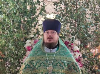 Проповедь протоиерея Сергия Третьякова в День Святой Троицы