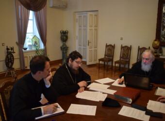 Настоятель храма принял участие в работе Административного совета Калужской духовной семинарии