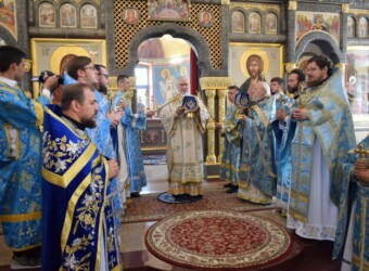 Настоятель храма принял участие в торжествах по случаю Престольного праздника монастыря в честь Калужской иконы Божией Матери г. Калуги