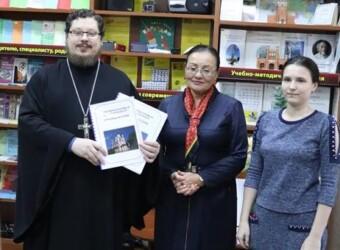 В Калужской областной специальной библиотеке для слепых состоялась презентация книги о храме