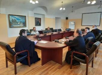 Настоятель храма возглавил заседание рабочей группы по лицензированию и аккредитации магистратуры